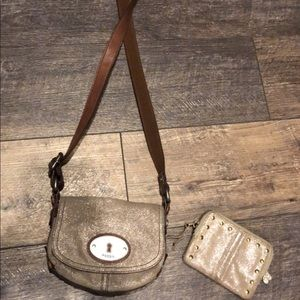 Small fossil purse with wallet